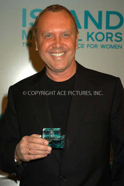 WWW.ACEPIXS.COM . . . . . ....NEW YORK, APRIL 15, 2005....Michael Kors at the launch of the Michael Kors fragrance 'Island' at Saks Fifth Avenue.....Please byline: KRISTIN CALLAHAN - ACE PICTURES.. . . . . . ..Ace Pictures, Inc:  ..Craig Ashby (212) 243-8787..e-mail: picturedesk@acepixs.com..web: http://www.acepixs.com