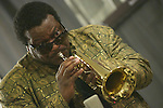 Jazz trumpeter Wallace Roney pays tribute to Miles Davis during an in studio performance at WBGO.