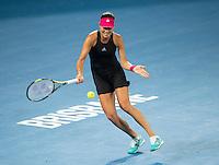 Ana Ivanovic (SRB)<br /> <br /> Tennis - Brisbane International 2015 - ATP 250 - WTA -  Queensland Tennis Centre - Brisbane - Queensland - Australia  - 8 January 2015. <br /> &copy; Tennis Photo Network