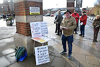Rail fare increases prompts protests at railway stations across the UK on the first working day of the year.  In Norwich NOR4NOR demanding a new publicly owned railway based on community needs. Norwich, UK. 2nd January 2019.