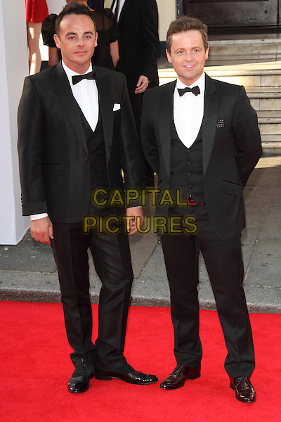 LONDON, ENGLAND - MAY 18: Ant and Dec attends the Arqiva British Academy Television Awards at the Theatre Royal Drury Lane on May 18, 2014 in London, England.<br /> CAP/ROS<br /> &copy;Steve Ross/Capital Pictures