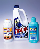 HOUSEHOLD BASES: Drano, Baking Soda, Mylanta<br />