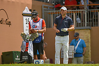 Martin Kaymer (GER) looks over his tee shot on 16 during day 2 of the Valero Texas Open, at the TPC San Antonio Oaks Course, San Antonio, Texas, USA. 4/5/2019.<br /> Picture: Golffile | Ken Murray<br /> <br /> <br /> All photo usage must carry mandatory copyright credit (© Golffile | Ken Murray)