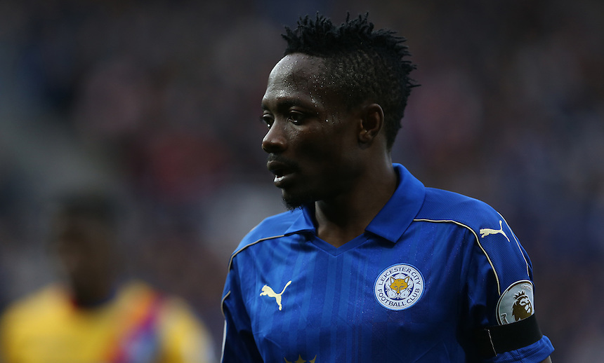 Leicester City's Ahmed Musa<br /> <br /> Photographer Stephen White/CameraSport<br /> <br /> The Premier League - Leicester City v Crystal Palace - Saturday 22nd October 2016 - King Power Stadium - Leicester<br /> <br /> World Copyright &copy; 2016 CameraSport. All rights reserved. 43 Linden Ave. Countesthorpe. Leicester. England. LE8 5PG - Tel: +44 (0) 116 277 4147 - admin@camerasport.com - www.camerasport.com