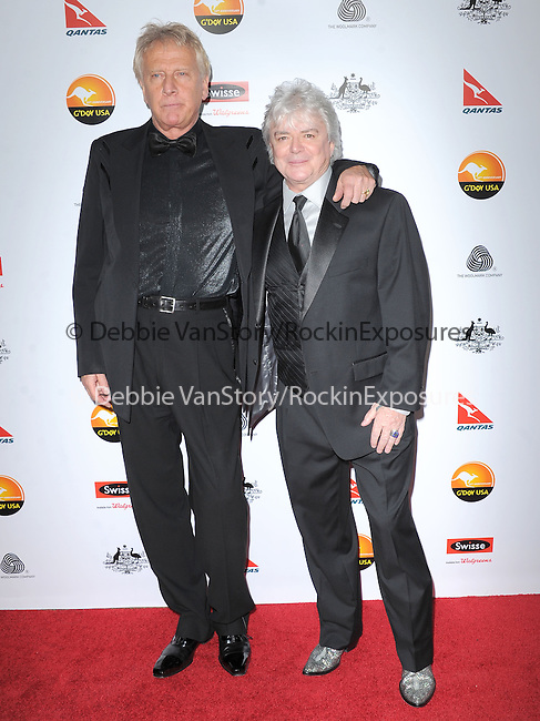 Graham Russell and Russell Hitchcock at The G'Day USA Black Tie Gala held at The JW Marriot at LA Live in Los Angeles, California on January 12,2013                                                                   Copyright 2013 Hollywood Press Agency