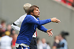 Chelsea Manager Antonio Conte during the The FA Community Shield match at Wembley Stadium, London. Picture date 6th August 2017. Picture credit should read: Charlie Forgham-Bailey/Sportimage