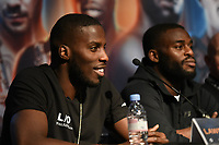 Lawrence Okolie during a Press Conference at the Grange City Hotel on 6th February 2019