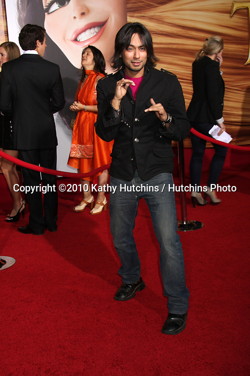 "LOS ANGELES - NOV 14:  Vik Sahay arrives at the ""Tangled"" World Premiere at El Capitan Theater on November 14, 2010 in Los Angeles, CA"