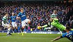 Craig Gordon saves from Martyn Waghorn