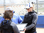 Joyce and Sam Herceg are honored at the Sophomore Day celebration after the first game of the Western Nevada College softball doubleheader on Saturday, April 30, 2016 at Pete Livermore Sports Complex. Photo by Shannon Litz/Nevada Photo Source
