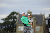 Aaron Marshall of Ireland during Day 2 / Foursomes of the Boys' Home Internationals played at Royal Dornoch Golf Club, Dornoch, Sutherland, Scotland. 08/08/2018<br /> Picture: Golffile | Phil Inglis<br /> <br /> All photo usage must carry mandatory copyright credit (&copy; Golffile | Phil Inglis)
