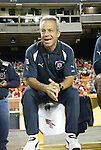 18 September 2004: Chicago Fire head coach Dave Sarachan. DC United defeated the Chicago Fire 3-1 at RFK Stadium in Washington, DC in a regular season Major League Soccer game..