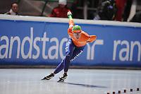 SCHAATSEN: BOEDAPEST: Essent ISU European Championships, 06-01-2012, 3000m Ladies, Diane Valkenburg NED, ©foto Martin de Jong