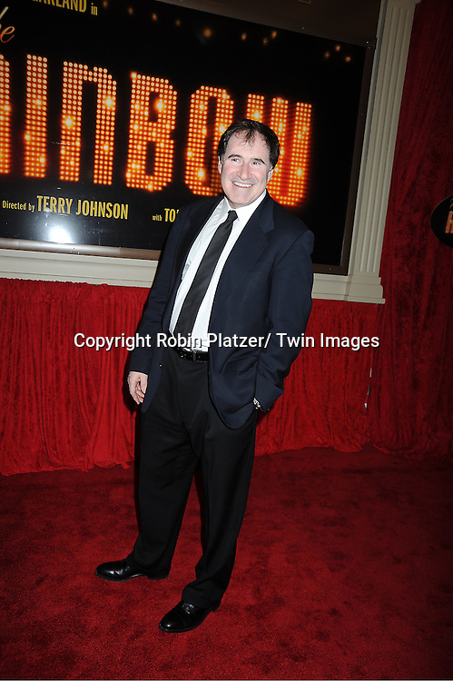 "Richard Kind arrives at the ""End Of The Rainbow"" Broadway opening night at The Belasco Theatre in New York City on April 2, 2012. The show stars Tracie Bennett, Tom Pelphrey, Michael Cumptsy and Jay Russell."