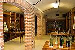 Deering residence wine cellar.