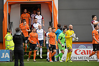 The players arrive during Barnet vs Stockport County, Emirates FA Cup Football at the Hive Stadium on 2nd December 2018