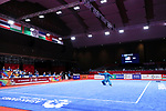 General view, <br /> AUGUST 21, 2018 - Wushu : <br /> Men's Taijiquan <br /> at JIExpo Kemayoran Hall B <br /> during the 2018 Jakarta Palembang Asian Games <br /> in Jakarta, Indonesia. <br /> (Photo by Naoki Nishimura/AFLO SPORT)