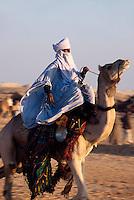Tuareg,  Festival in Douz, Tunesien
