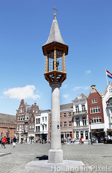 Nederland  Den Bosch  2016 .  Mariakapelletje op de Markt in Den Bosch. Foto  Berlinda van Dam / Hollandse Hoogte