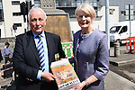 Co –authors Fiona Ahern of the Bellewstown Heritage Group and Paul Black with their recently published book Bellewstown's Forgotten Heroes which tells the stories of the 35 Bellewstown men who fought in the First World War. Picture: www.newsfile.ie
