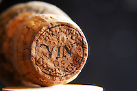 old champagne cork