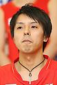 Shoji Sato (JPN), .June 9, 2012 - Badminton : .Badminton Japan National Team Send-off Ceremony for the London Olympics 2012 .in Tokyo, Japan. .(Photo by Daiju Kitamura/AFLO SPORT) [1045]