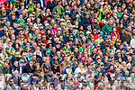 Spectators look on  during the All Ireland Senior Football Semi Final between Kerry and Tyrone at Croke Park, Dublin on Sunday.