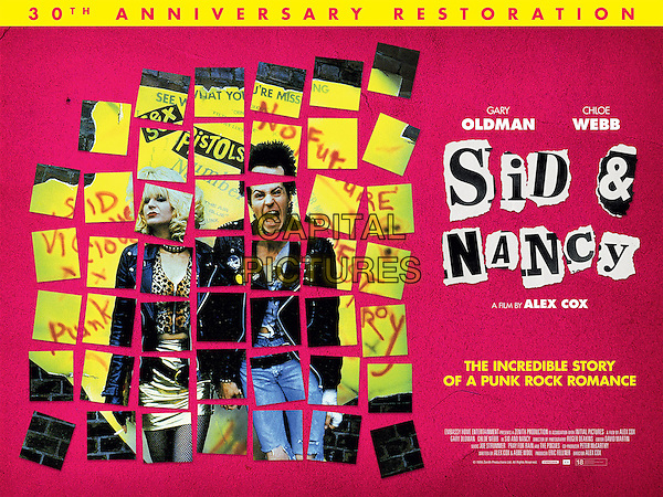 Sid and Nancy (1986) <br /> POSTER ART<br /> *Filmstill - Editorial Use Only*<br /> CAP/KFS<br /> Image supplied by Capital Pictures