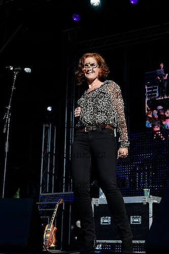 Alison Moyet - performing live on the Main Stage at Brighton and Hove Pride held at Preston Park Brighton Sussex UK - 03 Aug 2013.  Photo credit: George Chin/IconicPix