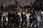 RIONEGRO – COLOMBIA _27-11-2013 /  En juego de vuelta de la final del Torneo de Ascenso Colombiano II, Fortaleza FC se coronó campeón de la segunda división tras empatar 0 – 0 en el juego de ida, igual marcador en el juego de vuelta y vencer por penales 3 – 1 a Rionegro en el estadio Alberto Grisales de Rionegro. /