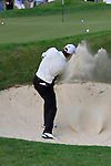 Padraig Harrington plays out of the bunker at the 13th green during Round 2 of the BMW PGA Championship at  Wentworth, Surrey, England...Photo Golffile/Eoin Clarke.(Photo credit should read Eoin Clarke www.golffile.ie)....This Picture has been sent you under the condtions enclosed by:.Newsfile Ltd..The Studio,.Millmount Abbey,.Drogheda,.Co Meath..Ireland..Tel: +353(0)41-9871240.Fax: +353(0)41-9871260.GSM: +353(0)86-2500958.email: pictures@newsfile.ie.www.newsfile.ie.