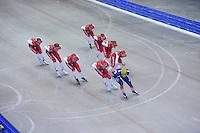 SCHAATSEN: IJSSTADION THIALF: 18-06-2013, Training zomerijs, Team Corendon, ©foto Martin de Jong