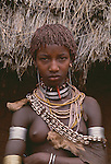 Hamar tribe girl