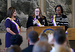 Suffrage plate ceremony