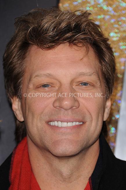 WWW.ACEPIXS.COM . . . . . .December 7, 2011...New York City.....Jon Bon Jovi attends the 'New Year's Eve' premiere at the Ziegfeld Theatre on December 7, 2011 in New York City....Please byline: KRISTIN CALLAHAN - ACEPIXS.COM.. . . . . . ..Ace Pictures, Inc: ..tel: (212) 243 8787 or (646) 769 0430..e-mail: info@acepixs.com..web: http://www.acepixs.com .