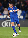Getafe CF's Jaime Mata during UEFA Europa League match. December 12,2019. (ALTERPHOTOS/Acero)