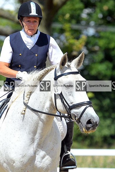Class 5. British Dressage. Brook Farm Training Centre. Essex. 19/07/2015. MANDATORY Credit Ellie Ingram/Sportinpictures - NO UNAUTHORISED USE - 07837 394578