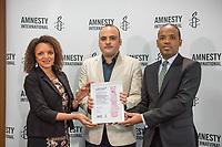 2018/04/16 Politik | Amnesty International | Menschenrechtspreis 2018