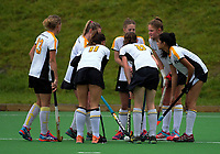 Action from the Wellington women's premier one hockey match between Indians and Harbour City at The National Hockey Stadium, Wellington, New Zealand on Saturday, 10 June 2017. Photo: Dave Lintott / lintottphoto.co.nz
