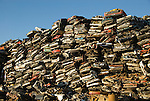 Automobile scrap metal recycling
