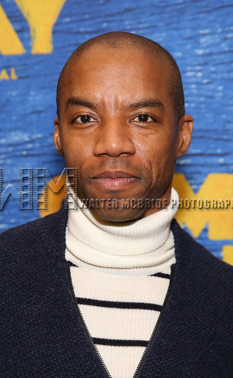 Rodney Hicks attends the press day for Broadway's 'Come From Away' at Manhattan Movement and Arts Center on February 7, 2017 in New York City.