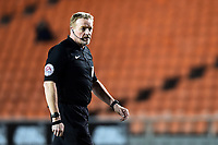 Referee Trevor Kettle looks on<br /> <br /> Photographer Richard Martin-Roberts/CameraSport<br /> <br /> The EFL Sky Bet League One - Blackpool v Charlton Athletic - Tuesday 13th March 2018 - Bloomfield Road - Blackpool<br /> <br /> World Copyright &copy; 2018 CameraSport. All rights reserved. 43 Linden Ave. Countesthorpe. Leicester. England. LE8 5PG - Tel: +44 (0) 116 277 4147 - admin@camerasport.com - www.camerasport.com