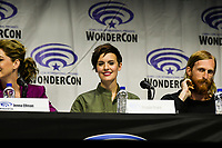 Maggie Grace at Wondercon in Anaheim Ca. March 31, 2019