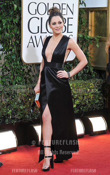 Katharine McPhee at the 70th Golden Globe Awards at the Beverly Hilton Hotel..January 13, 2013  Beverly Hills, CA.Picture: Paul Smith / Featureflash