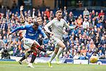 28.04.2019 Rangers v Aberdeen: Jermain Defoe shot saved by Joe Lewis