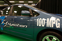 Montreal's AUTO SHOW 2007 feature many hybrid cars such as the Hymotion 100 MPG<br />