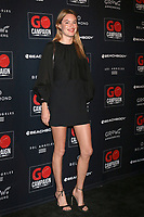 LOS ANGELES - OCT 20:  Camille Rowe at the GO Campaign Gala at the City Market Social House on October 20, 2018 in Los Angeles, CA