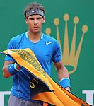 Rafael Nadal (ESP) defeats Teymoraz Gabashvili (RUS) 6-4, 6-1