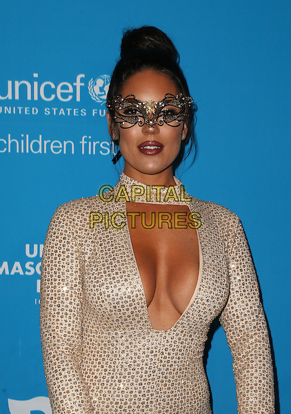 LOS ANGELES, CA - OCTOBER 27: Carissa Rosario at the Fourth Annual UNICEF Masquerade Ball Los Angeles at Clifton's Cafeteria in Los Angeles, California on October 27, 2016. <br /> CAP/MPI/FS<br /> &copy;FS/MPI/Capital Pictures