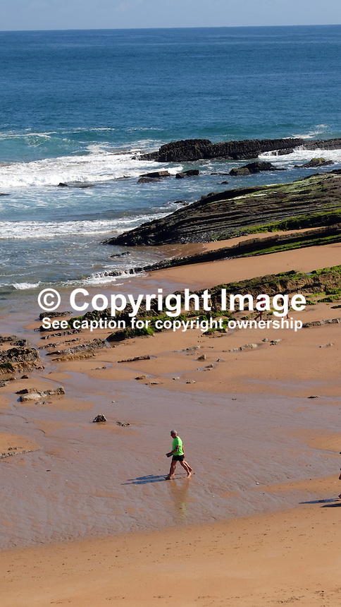 Beach, El Sardinero, Santander, Spain, May, 2015, 201505060735<br /> <br /> Attention: size only 16 x 9 cms @ 300 dpi<br /> <br /> Copyright Image from Victor Patterson, 54 Dorchester Park, Belfast, UK, BT9 6RJ<br /> <br /> t: +44 28 9066 1296<br /> m: +44 7802 353836<br /> vm +44 20 8816 7153<br /> <br /> e1: victorpatterson@me.com<br /> e2: victorpatterson@gmail.com<br /> <br /> www.victorpatterson.com<br /> <br /> IMPORTANT: Please see my Terms and Conditions of Use at www.victorpatterson.com